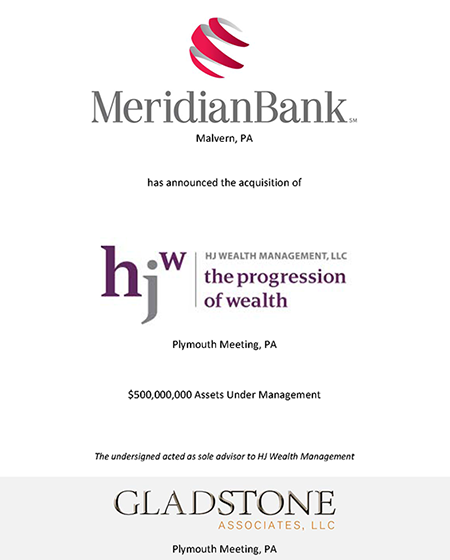 Meridian Bank Tombstone
