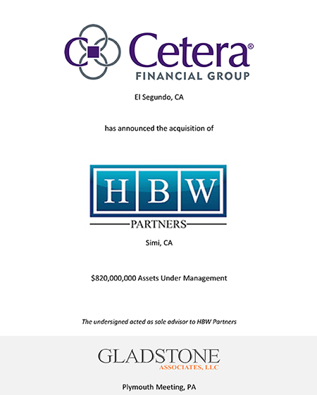 Cetera Financial Group Tombstone